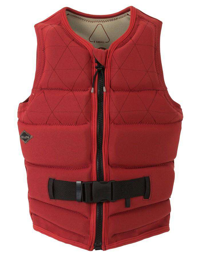 FOLLOW PHARAOH LADIES JACKET - RUST - 2020 Life Jacket - Womens - Trojan Wake Ski Snow