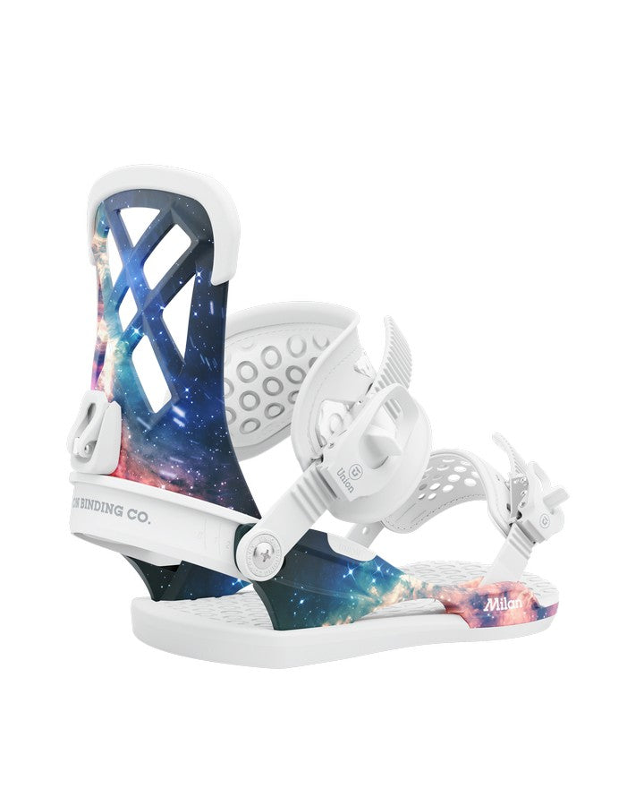 Union Milan Womens Snowboard Bindings - Space Dust - 2021