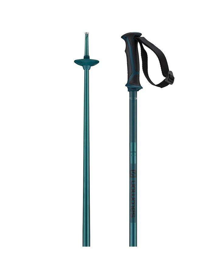Salomon Arctic Ski Pole - Navy Blue Ski Poles - Trojan Wake Ski Snow
