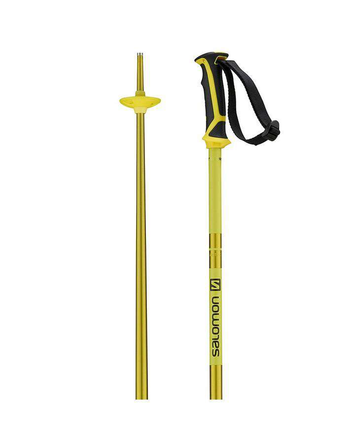 Salomon Arctic Ski Pole - Yellow Ski Poles - Trojan Wake Ski Snow