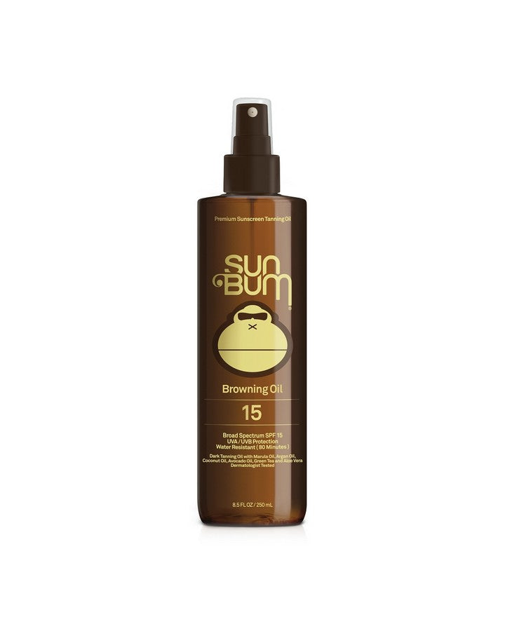 SUN BUM 251ML BROWNING OIL SPF15 ACCESS - Trojan Wake Ski Snow