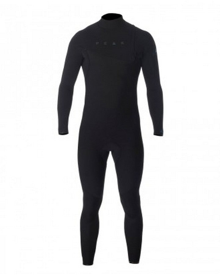 PEAK CLIMAX PRO ZIP FREE 3/2MM GB WETSUIT STEAMER BLACK STEAMERS - MEN - Trojan Wake Ski Snow