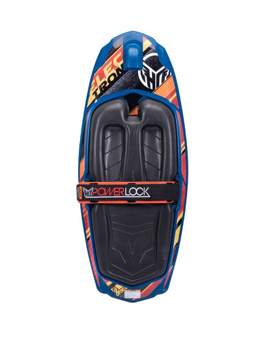 HO ELECTRON KNEEBOARD WITH POWER LOCK STRAP - 2021 Kneeboards - Plastic - Trojan Wake Ski Snow