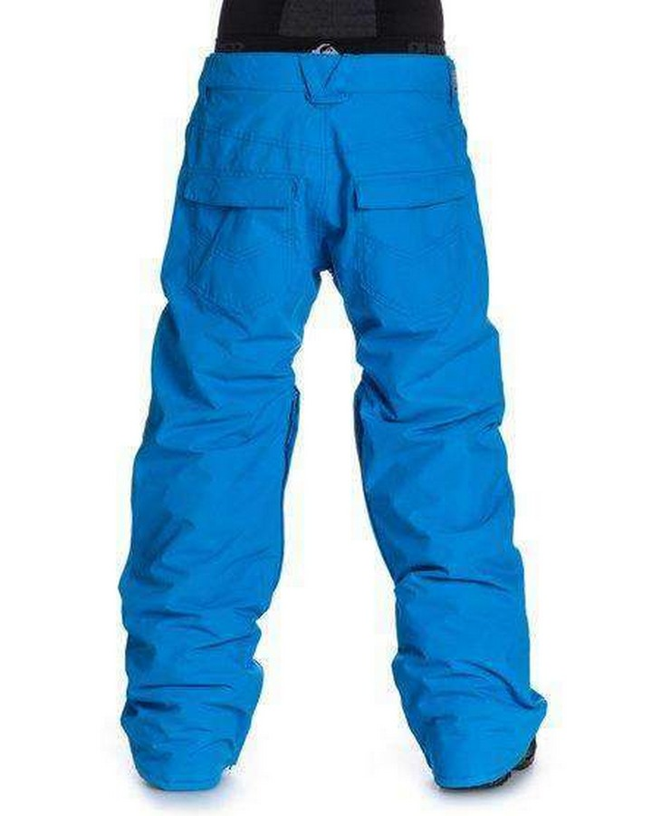 Quiksilver Mens surface pant Blue Snow Pants - Mens - Trojan Wake Ski Snow