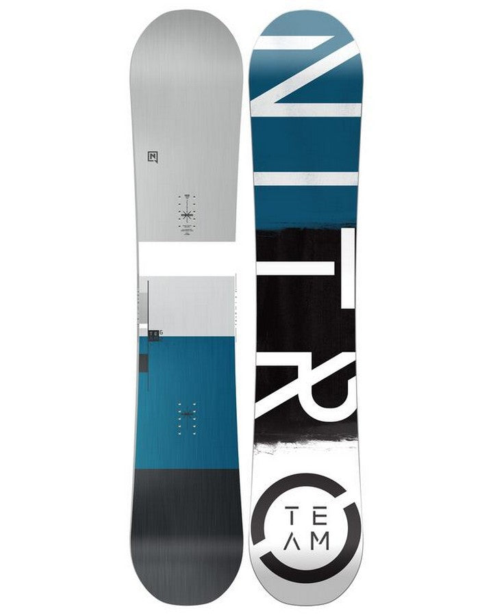 Nitro Team Wide Snowboard - 2022 Snowboards - Men - Trojan Wake Ski Snow