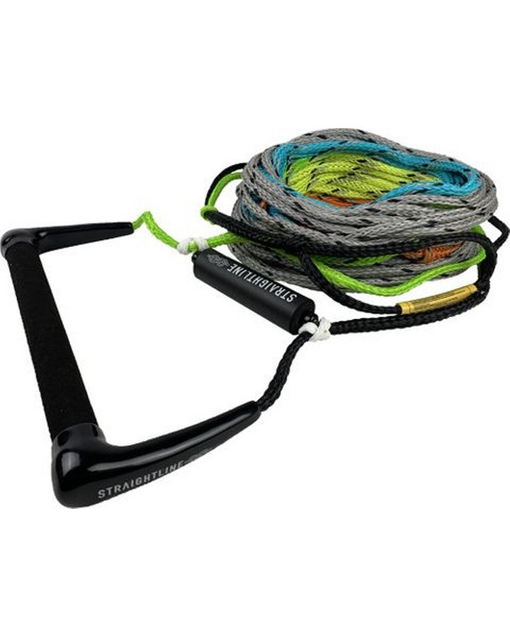 STRAIGHTLINE TEAM LV SUEDE W 5 SECTION MAINLINE - 2021 Waterski Ropes/Handles - Trojan Wake Ski Snow