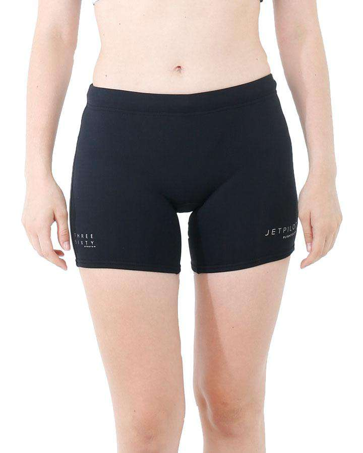 "Jetpilot Flight Ladies 5"" Neo Short - 2022 Wetsuit Shorts - Ladies - Trojan Wake Ski Snow"