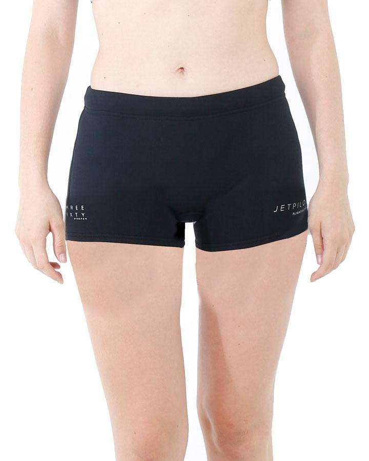 "Jetpilot Flight Ladies 2.5"" Neo Short - 2022 Wetsuit Shorts - Ladies - Trojan Wake Ski Snow"