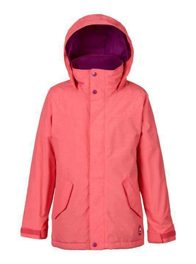 BURTON GIRLS BURTON JACKET S GIRLS ELODIE JK GEORGIA PEACH