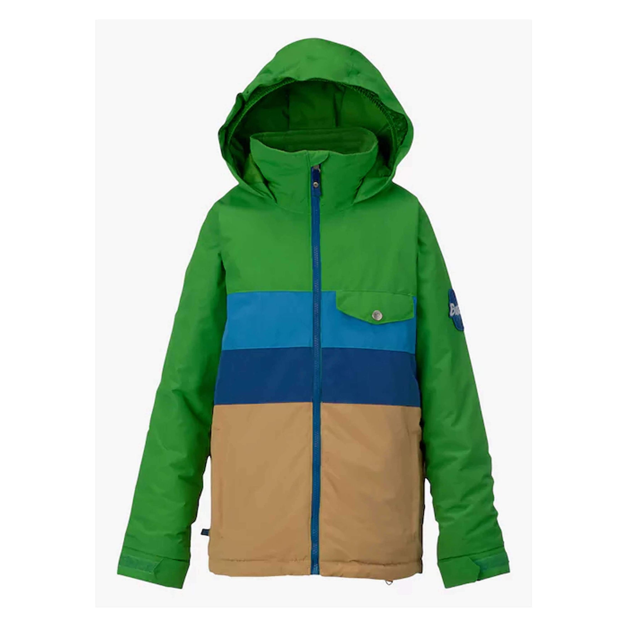 BURTON JACKETS S / SLIME BLOCK(361) / KIDS BOYS BURTON OL 2017 JACKET BOYS SYBURTON OL 2017 JACKET