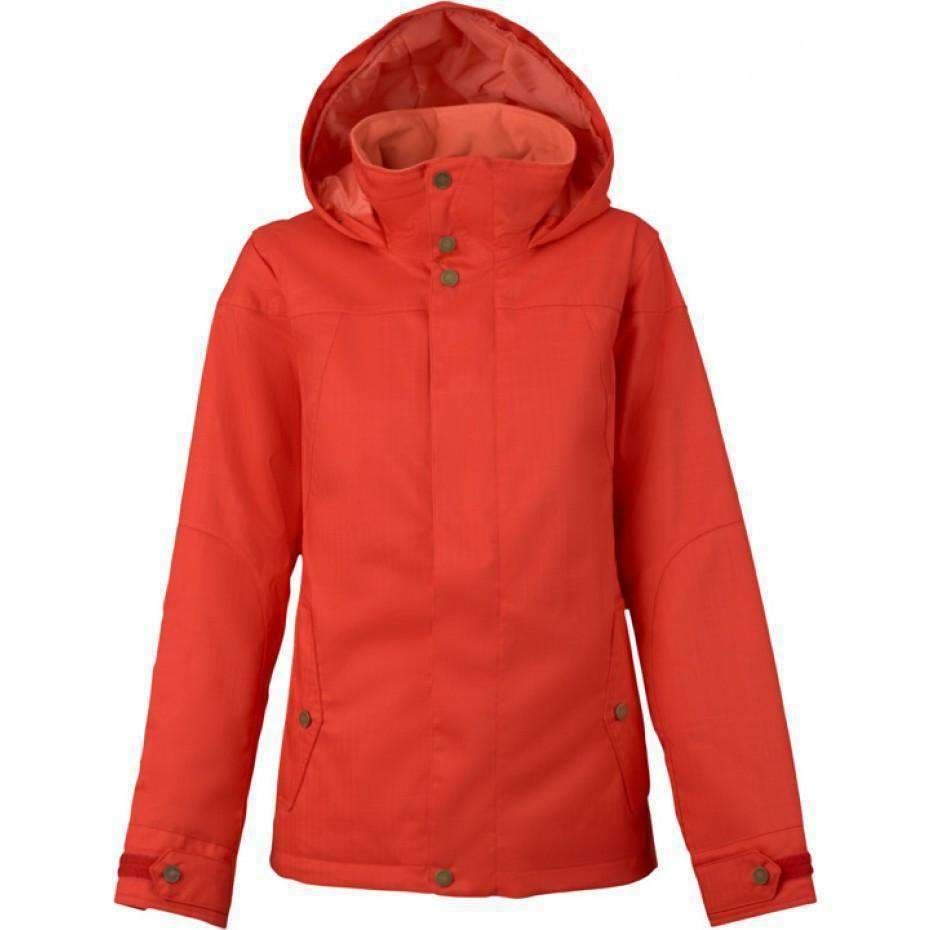 Burton Jet Set Jacket Coral Snow Jackets - Womens - Trojan Wake Ski Snow