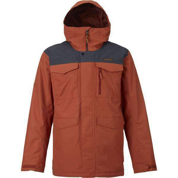 BURTON Snow Jackets - Men M / PICANTE/DENIM(632) / MENS BURTON  COVERT 2017 JACKET BURTON  COVERT 2017 JACKET