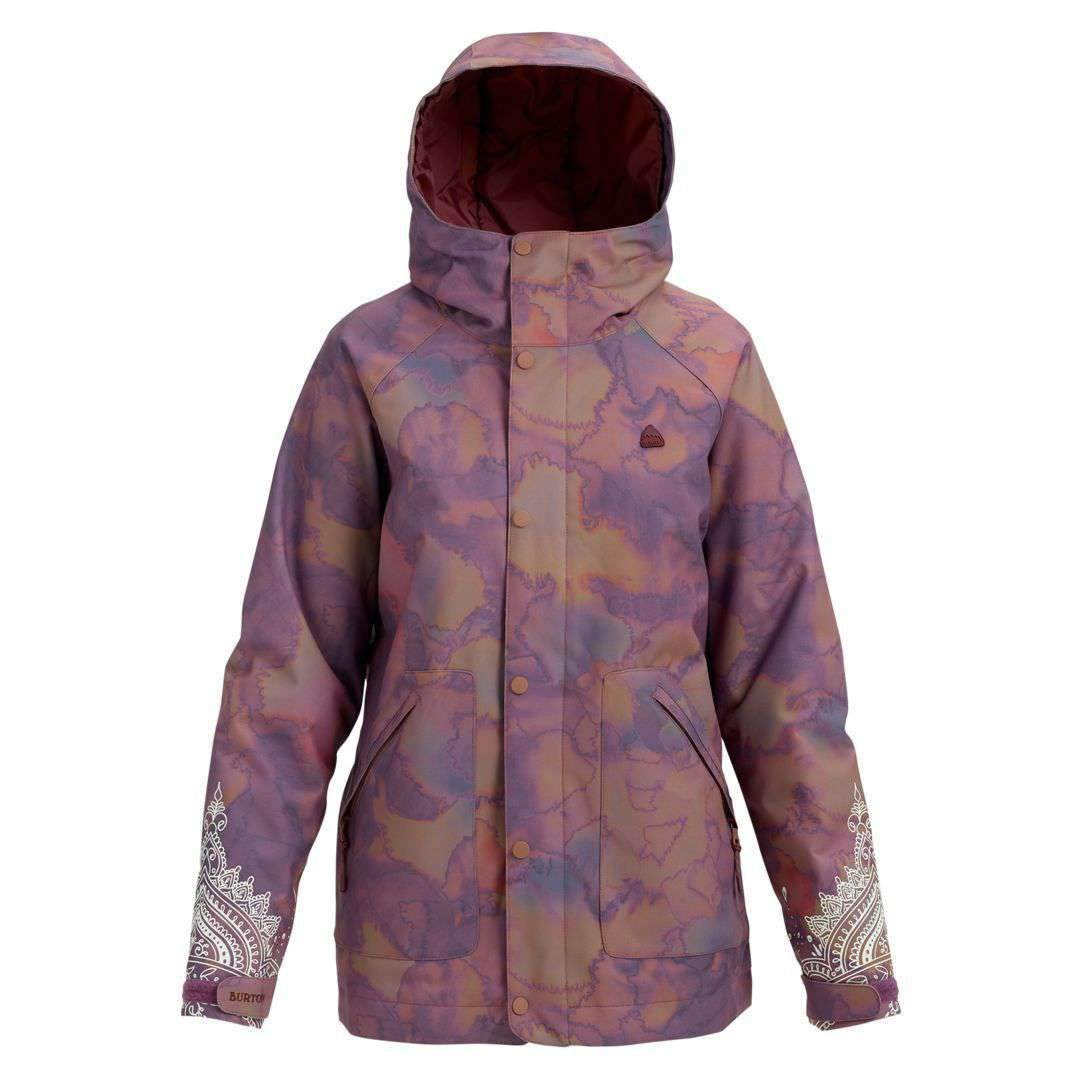 2019 BURTON WOMENS EASTFALL JACKET QUARTZ CAMO