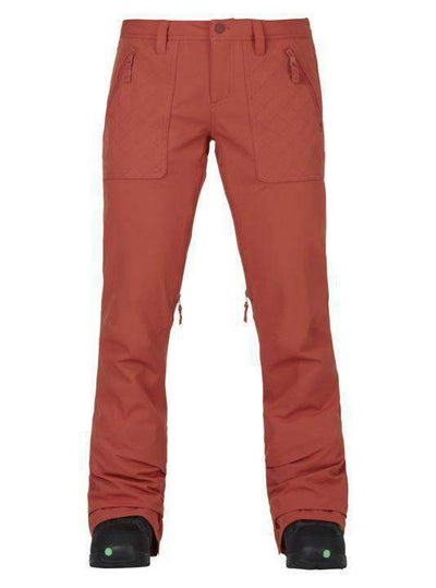 2018 WOMENS BURTON VIDA PT PERSIMMON Snow Pants - Womens - Trojan Wake Ski Snow
