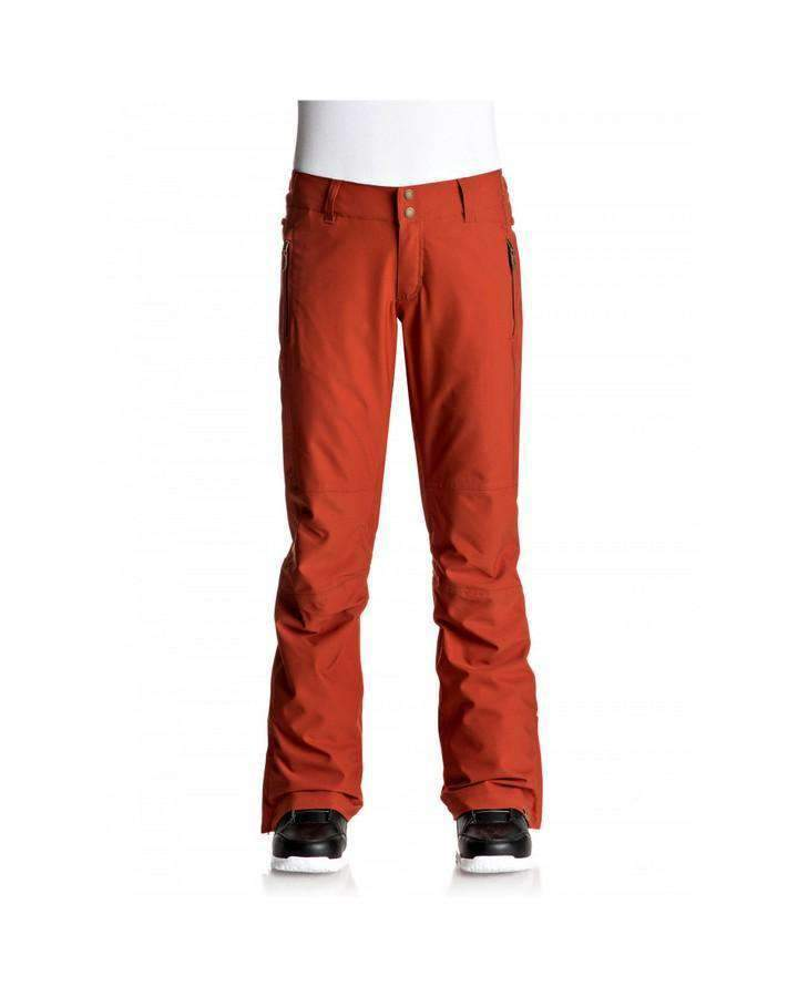 Roxy Womens Cabin Snow Pant - Rooibos Tea