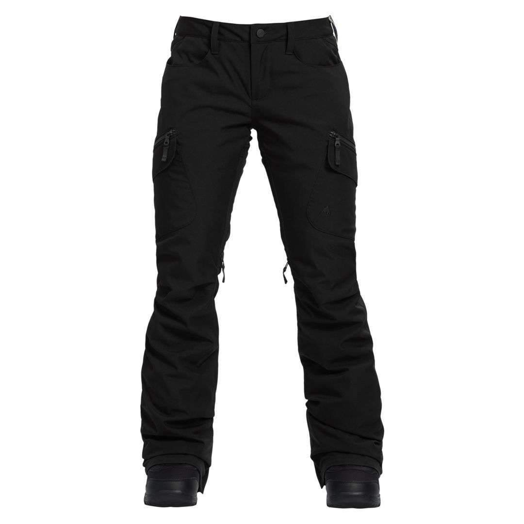 Burton Womens Gloria Insulated Pant True Black - 2019  - Trojan Wake Ski Snow