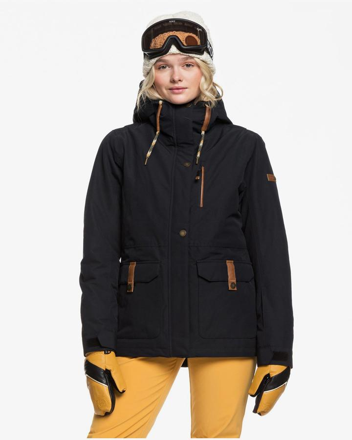 2020 Roxy Womens Andie Snow Jacket - True Black