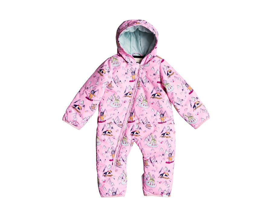 2020 Roxy Toddler Rose Snowsuit - Prism Pink Snow Trip