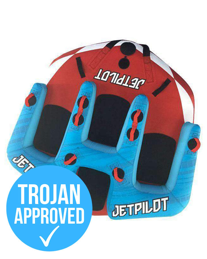 JETPILOT JP4 TOWABLE Water Ski Tube - 2021 Tubes - Trojan Wake Ski Snow
