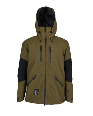Yuki Threads Northbound Jacket - Amazon/Black - 2020 Snow Jackets - Mens - Trojan Wake Ski Snow