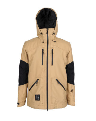 Yuki Threads Northbound Jacket - Camel/Black - 2020 Snow Jackets - Mens - Trojan Wake Ski Snow