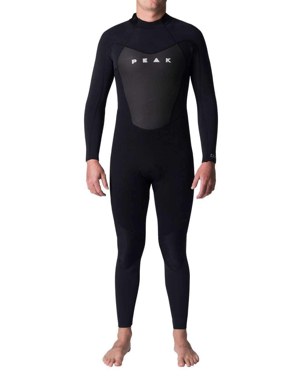 2019 PEAK ENERGY 3/2MM FL WETSUIT STEAMER BLACK-STEAMERS - MEN-PEAK-S-Trojan Wake Ski Snow