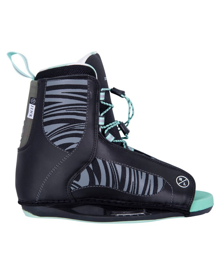Hyperlite Jinx Boot Pair - 2021 Wakeboard Boots - Women - Trojan Wake Ski Snow