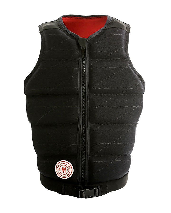 FOLLOW B.P PRO MENS JACKET - BLACK - 2021 Life Jacket - Mens - Trojan Wake Ski Snow