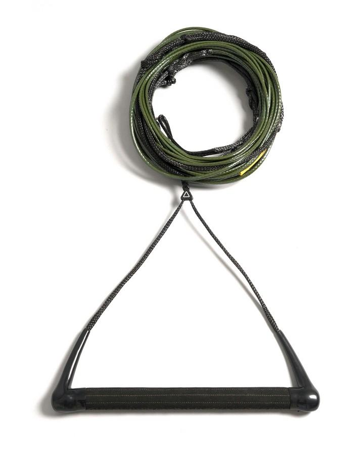 Follow Oli Pro Package - Black/Olive - 2022 Wakeboard Ropes/Handles - Trojan Wake Ski Snow