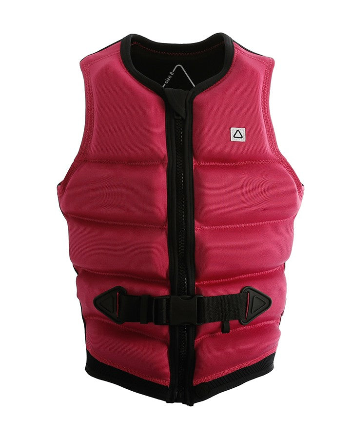 Follow Primary Ladies Jacket - Pink - 2021 Life Jacket - Womens - Trojan Wake Ski Snow
