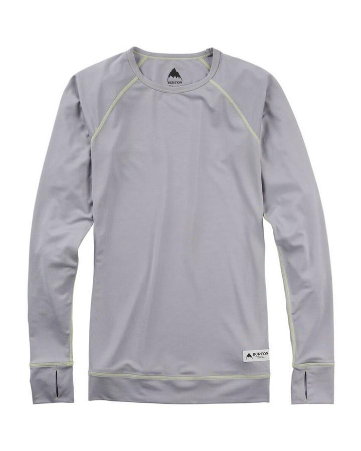 Burton Women's Lightweight Base Layer Crew - Lilac Gray - 2020 Thermals - Mens - Trojan Wake Ski Snow