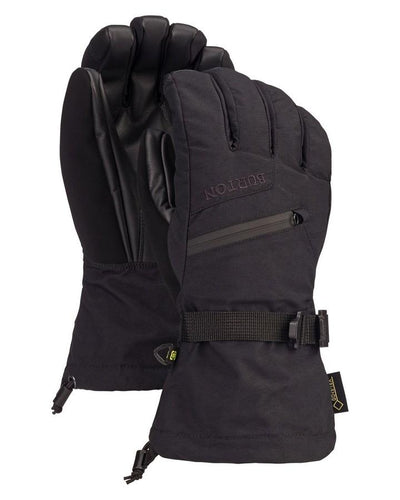 Burton Men's GORE-TEX Glove + Gore Warm technology - True Black - 2020 Snow Gloves - Men - Trojan Wake Ski Snow