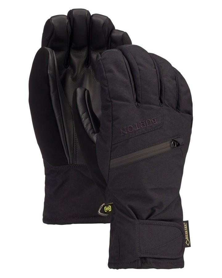 Burton Men's GORE-TEX Under Glove + Gore Warm Technology - True Black - 2020 Snow Gloves - Men - Trojan Wake Ski Snow