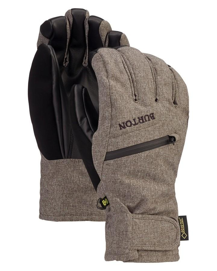Burton Men's GORE-TEX Under Glove + Gore Warm Technology - Bog Heather - 2020 Snow Gloves - Men - Trojan Wake Ski Snow