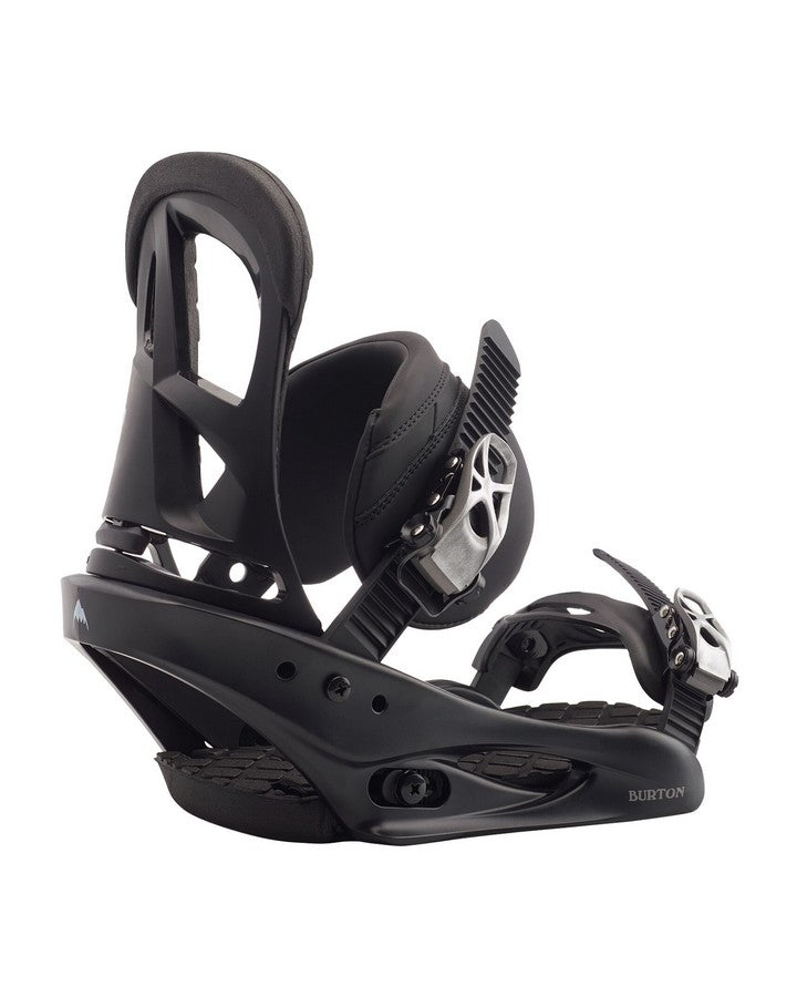 Burton Stiletto Re:Flex Snowboard Binding - Black - 2020 Snowboard Bindings - Women - Trojan Wake Ski Snow