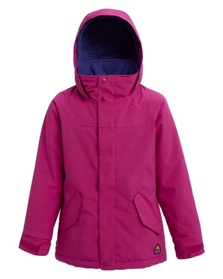Burton Girls' Elodie Jacket - Fuchsia Heather - 2020 Snow Jackets - Youth - Trojan Wake Ski Snow