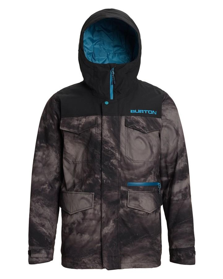 Burton Men's Covert Jacket - Low Pressure/True Black - 2020 Snow Jackets - Mens - Trojan Wake Ski Snow