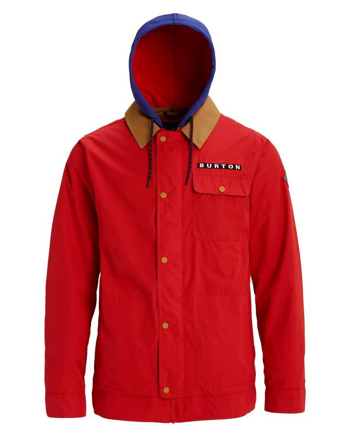 Burton Men's  Dunmore Jacket - Flame Scarlet - 2020 Snow Jackets - Mens - Trojan Wake Ski Snow