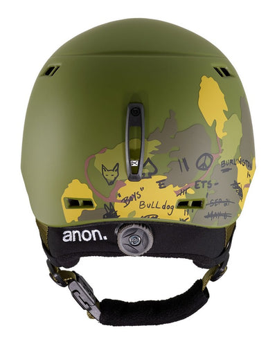 Anon Kids' Burner Helmet  - Camo - 2020 Snow Helmets - Youth - Trojan Wake Ski Snow