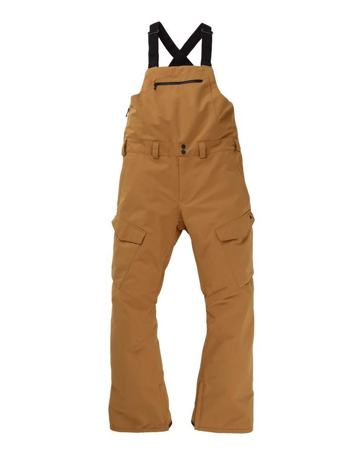 2020 Burton Men's  Reserve Bib - Wood Thrush Snow Pants - Mens - Trojan Wake Ski Snow