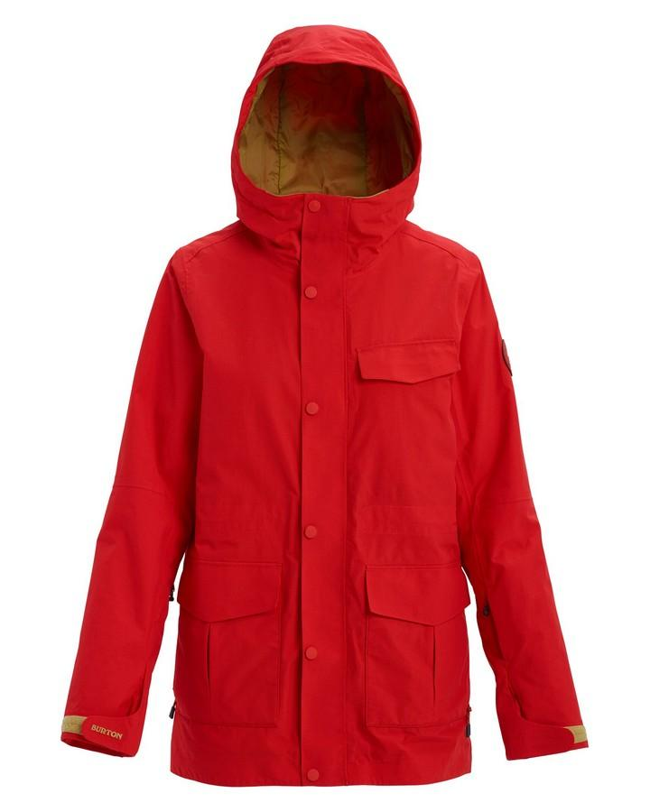Burton Women's Runestone Jacket - Flame Scarlet - 2020 Snow Jackets - Youth - Trojan Wake Ski Snow