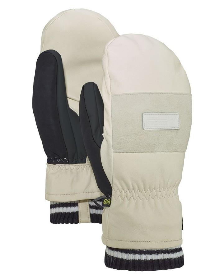 Burton Men's Free Range Mitten - Stout White - 2020 Snow Gloves - Men - Trojan Wake Ski Snow