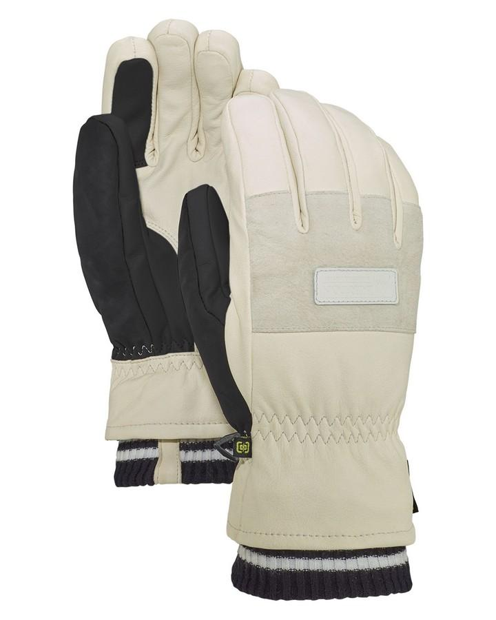 2020 Burton Men's Free Range Glove - Stout White - Trojan Wake Ski Snow