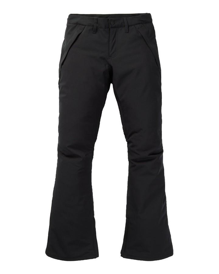 Burton Women's Society Pant - Short - True Black - 2020 Snow Pants - Womens - Trojan Wake Ski Snow