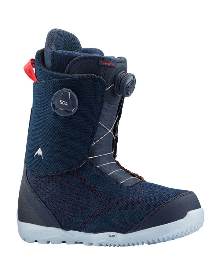 Burton Men's Swath BOA® Snowboard Boot - Blue/red - 2020 Snowboard Boots - Men - Trojan Wake Ski Snow