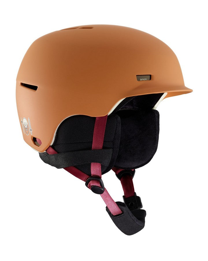 Anon Highwire Helmet  - DOA Orange - 2020 Snow Helmets - Mens - Trojan Wake Ski Snow
