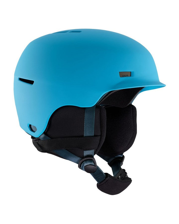 2020 Anon Flash Helmet - Blue-Snow Helmet - Youth-Anon-Blue-S\M-Trojan Wake Ski Snow