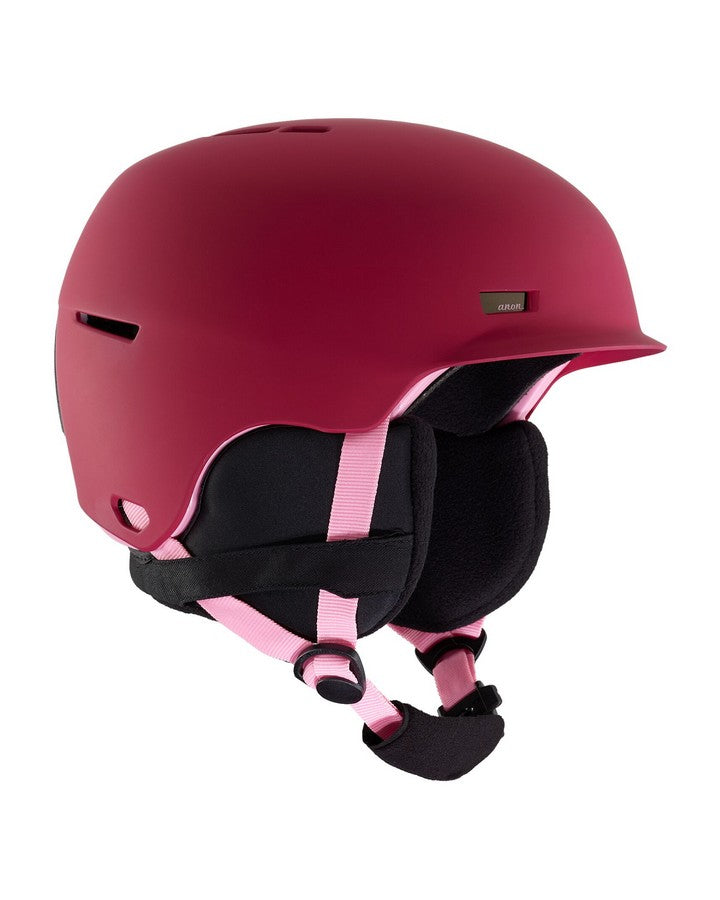 2020 Anon Flash Helmet - Berry-Snow Helmet - Youth-Anon-Berry-Trojan Wake Ski Snow