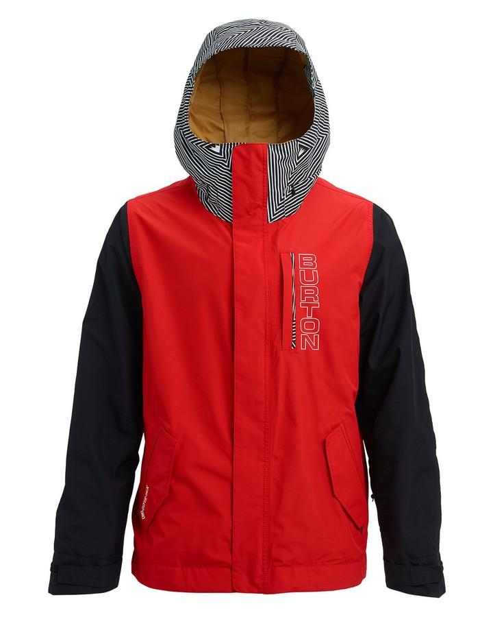 Burton Men's GORE-TEX Doppler Jacket - Flame Scarlet/True Black/Spun Out - 2020 Snow Jackets - Mens - Trojan Wake Ski Snow