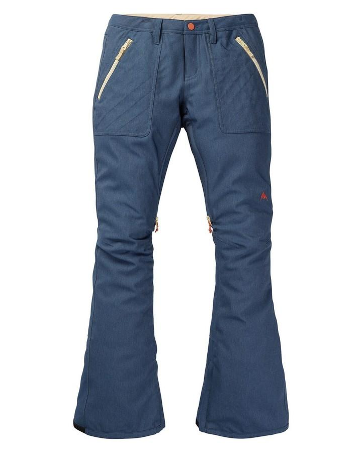 Burton Women's Vida Pant Stretch Denim - Light Denim - 2020 Snow Pants - Womens - Trojan Wake Ski Snow